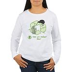Keep New Zealand Clean Women's Long Sleeve T-Shirt