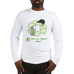Keep New Zealand Clean Long Sleeve T-Shirt