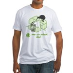 Keep New Zealand Clean Fitted T-Shirt