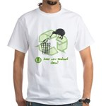 Keep New Zealand Clean White T-Shirt