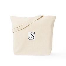 Initial S Tote Bag