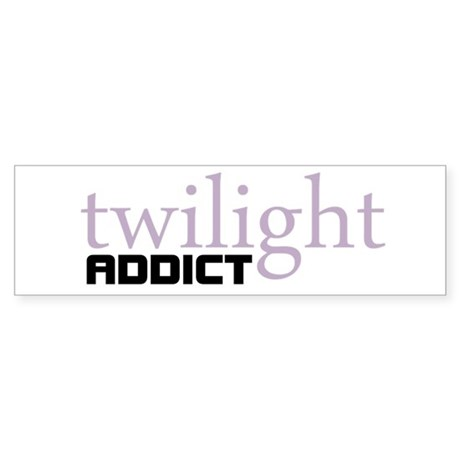 Twilight Addict Bumper Sticker