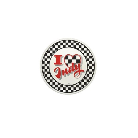 I Love Indy! Mini Button (100 pack)