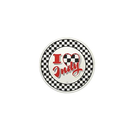 I Love Indy! Mini Button