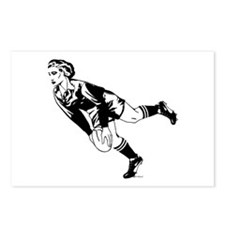 Women's Rugby Pass Postcards (Package of 8)