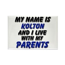 my name is kolton and I live with my parents Recta
