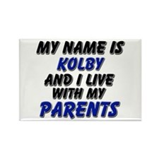 my name is kolby and I live with my parents Rectan