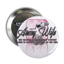 """Army Wife My Calling 2.25"""" Button"""