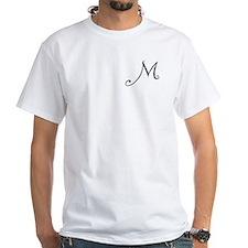 Initial M Shirt