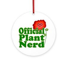 Plant Nerd Ornament (Round)