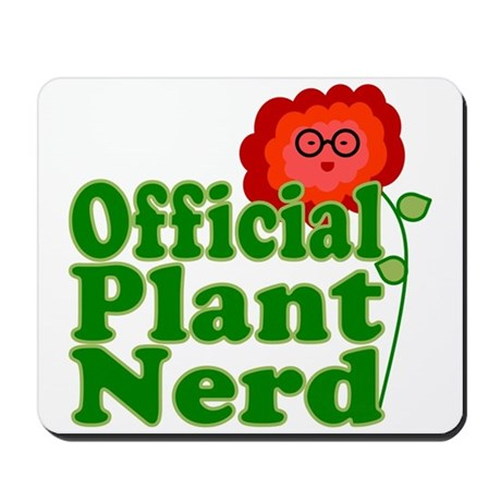 Plant Nerd Mousepad
