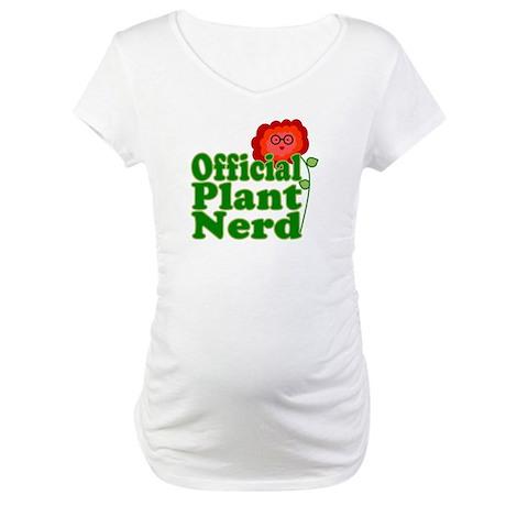 Plant Nerd Maternity T-Shirt