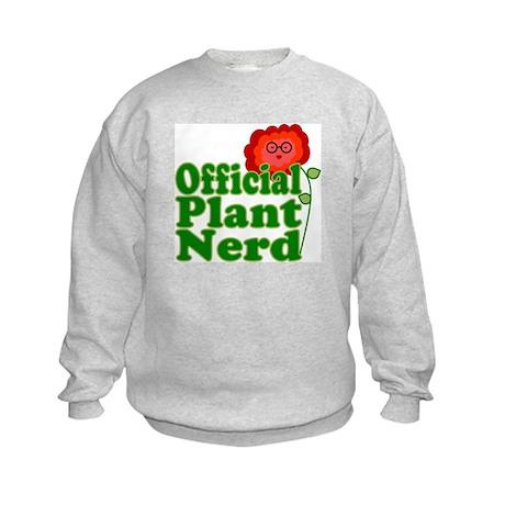 Plant Nerd Kids Sweatshirt