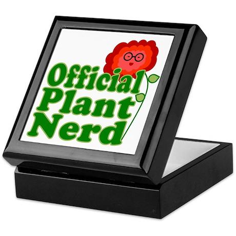 Plant Nerd Keepsake Box