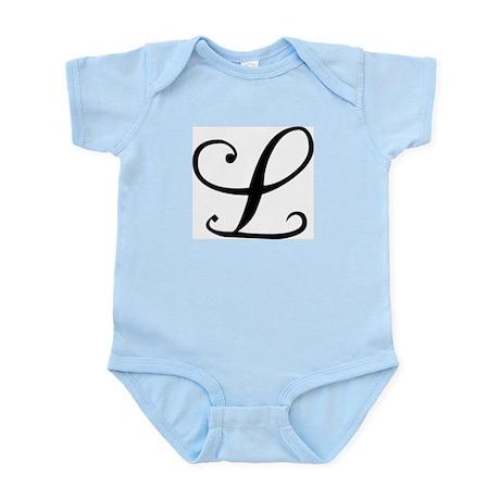 Initial L Infant Creeper