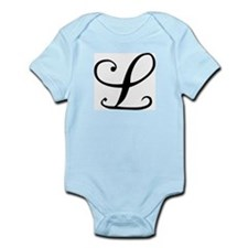 Initial L Infant Creeper