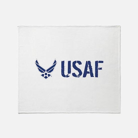 USAF: USAF Throw Blanket