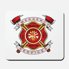 Fire Department Mousepad