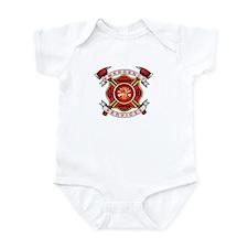 Fire Department Infant Bodysuit