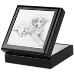 Great Pyrenees Puppy Keepsake Box