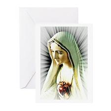 Cute Fatima Greeting Cards (Pk of 10)