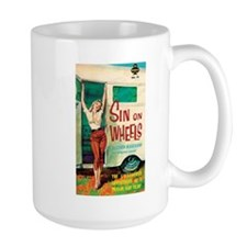 "Mug- ""Sin On Wheels"""