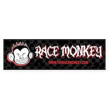 RaceMonkey Bumper Bumper Sticker