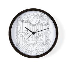 Theatre Cats Wall Clock