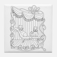 Theatre Cats Tile Coaster