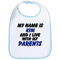 my name is kim and I live with my parents Bib
