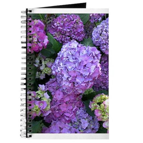 Hydrangeas Note Book
