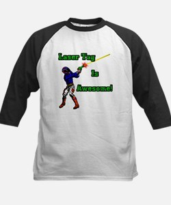 Laser Tag (Get Silly) Kids Baseball Jersey