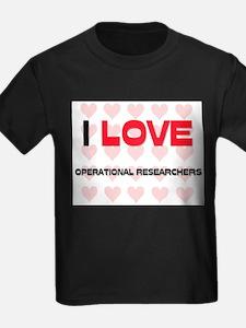 I LOVE OPERATIONAL RESEARCHERS T