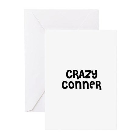 CRAZY CONNER Greeting Cards (Pk of 10)