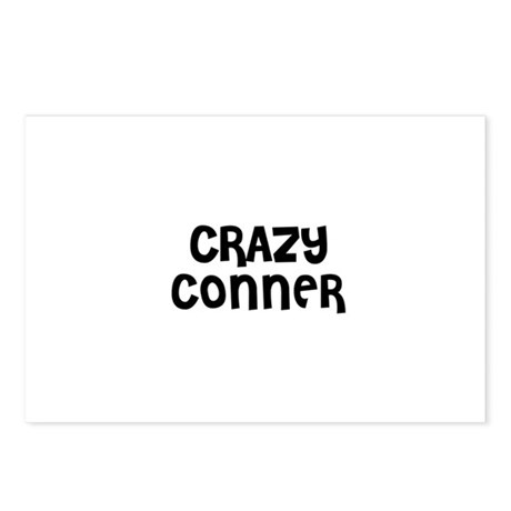 CRAZY CONNER Postcards (Package of 8)