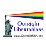 Outright Libertarians Postcards (Package of 8)