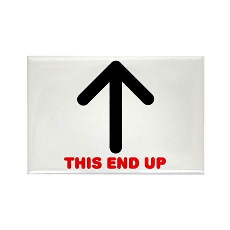 THIS END UP Rectangle Magnet (10 pack)