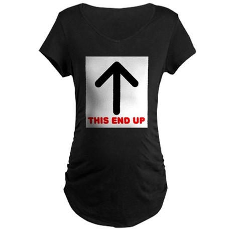 THIS END UP Maternity Dark T-Shirt