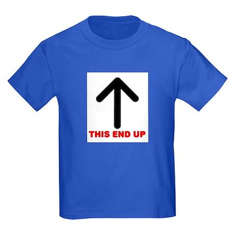 THIS END UP Kids Dark T-Shirt