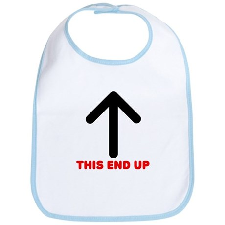 THIS END UP Bib