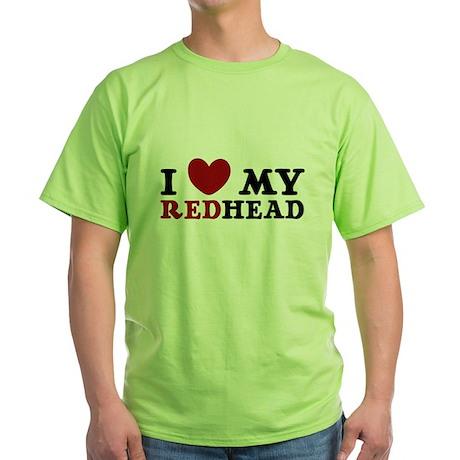 3-REDheadlove4-24 T-Shirt