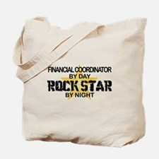 Financial Coordinator Rock Star Tote Bag