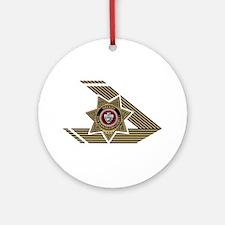 Sheriff San Bernardino Ornament (Round)