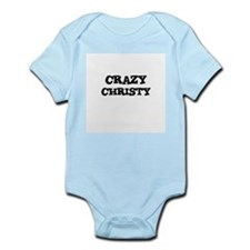 CRAZY CHRISTY Infant Creeper