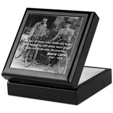Nobel Philosophy Marie Curie Keepsake Box