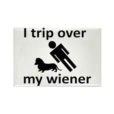 Wiener Trip Rectangle Magnet