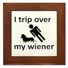Wiener Trip Framed Tile