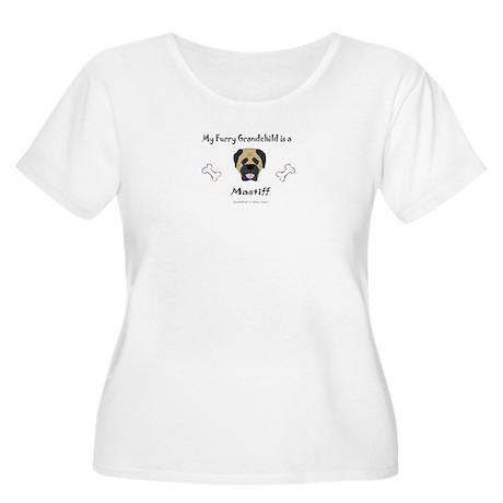 mastiff gifts Women's Plus Size Scoop Neck T-Shirt