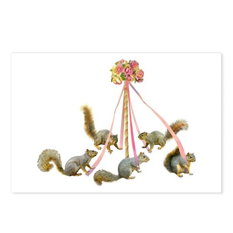 Maypole Squirrels Postcards (Package of 8)