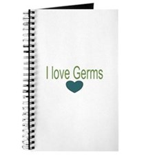 I love Germs Journal